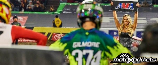 cody gilmore - oakland - supercross - results - 2017