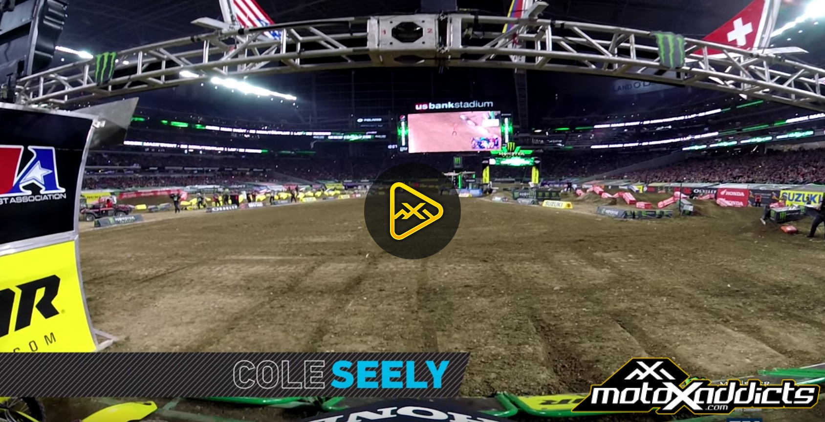 GoPro: Cole Seely – 2017 Minneapolis SX Main Event