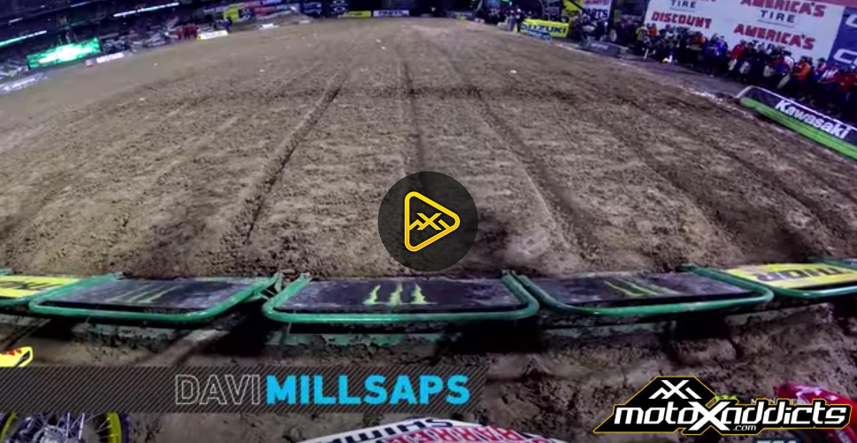 GoPro: Davi Millsaps' Main Event –  2017 Oakland SX