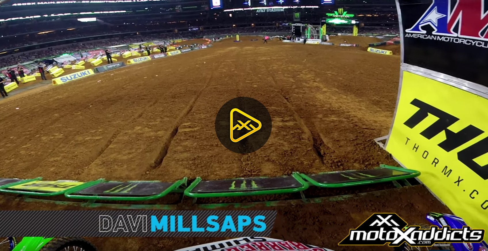 GoPro: Davi Millsaps at 2017 Arlington SX