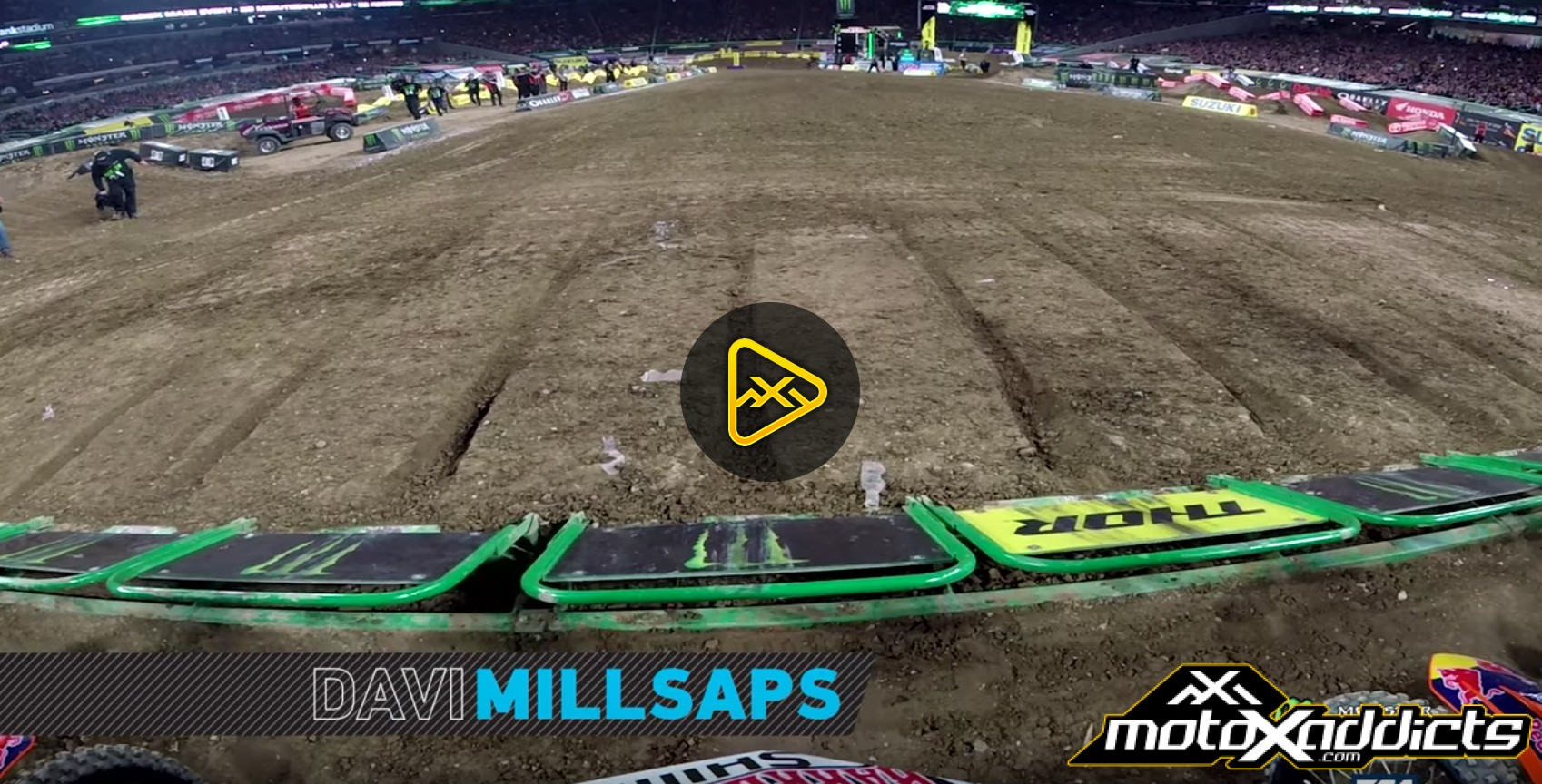 GoPro: Davi Millsaps – 2017 Minneapolis SX Main Event