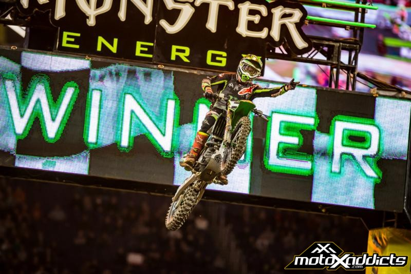 Tomac and Savatgy on top at 2017 Minneapolis SX
