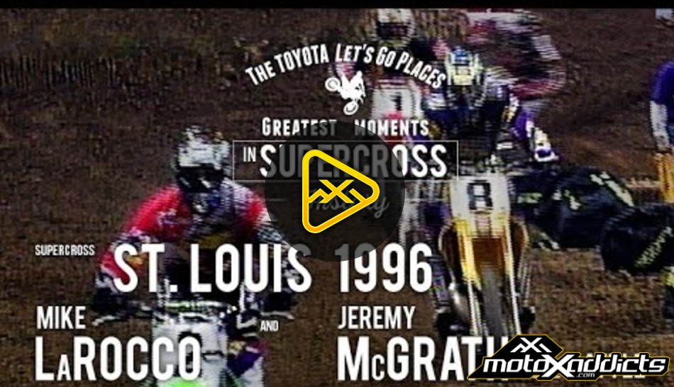 SX Flashbacks: Mike LaRocco & Jeremy McGrath battle