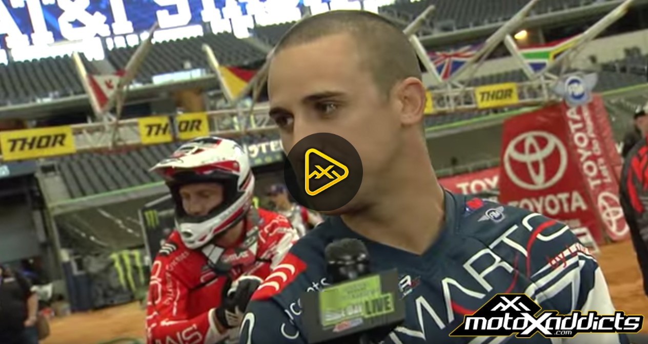 Alessi and Friese Behind the Scenes – 2017 Arlington SX