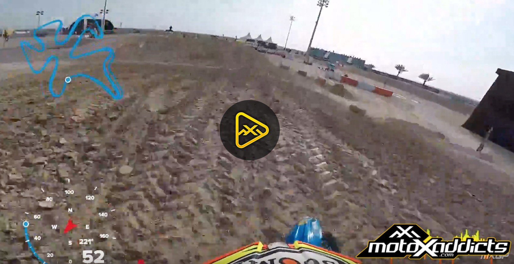 GoPro Samuele Bernardini at 2017 MXGP of Qatar