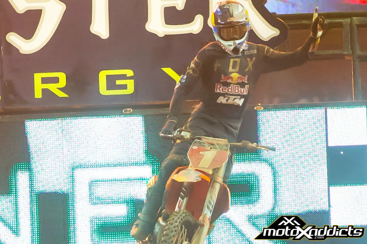 Dungey, Baggett and Martin Score Podiums for KTM in Atlanta