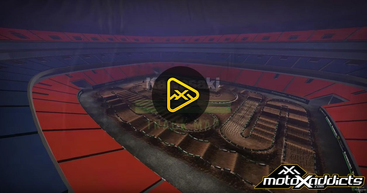 2017 Atlanta Supercross – Animated Track Map