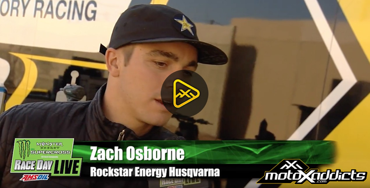 Zach Osborne Interview – 2017 Minneapolis SX