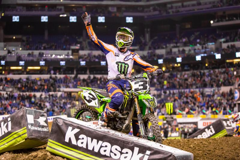 Tomac and Osborne win at 2017 Indianapolis SX