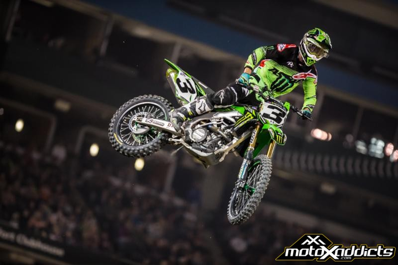 Tomac and Osborne on top at 2017 Toronto SX