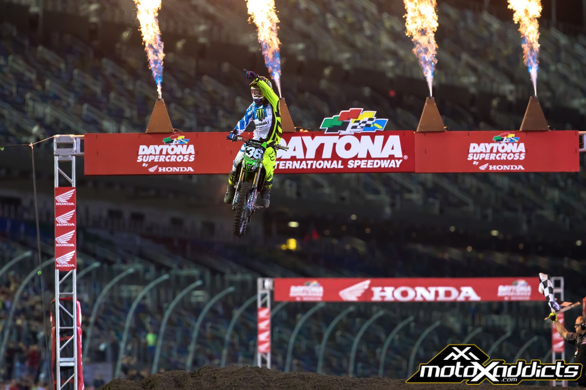Adam Cianciarulo was not going to be denied on Saturday night.