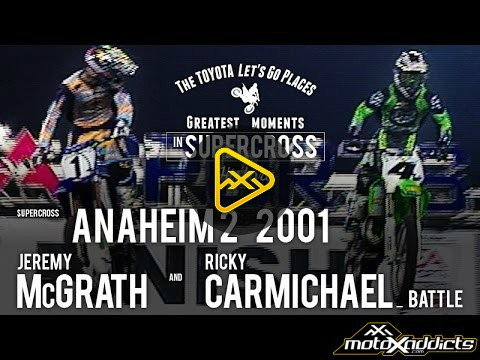 Flashback: McGrath and Carmichael battle – 2001 A2 SX
