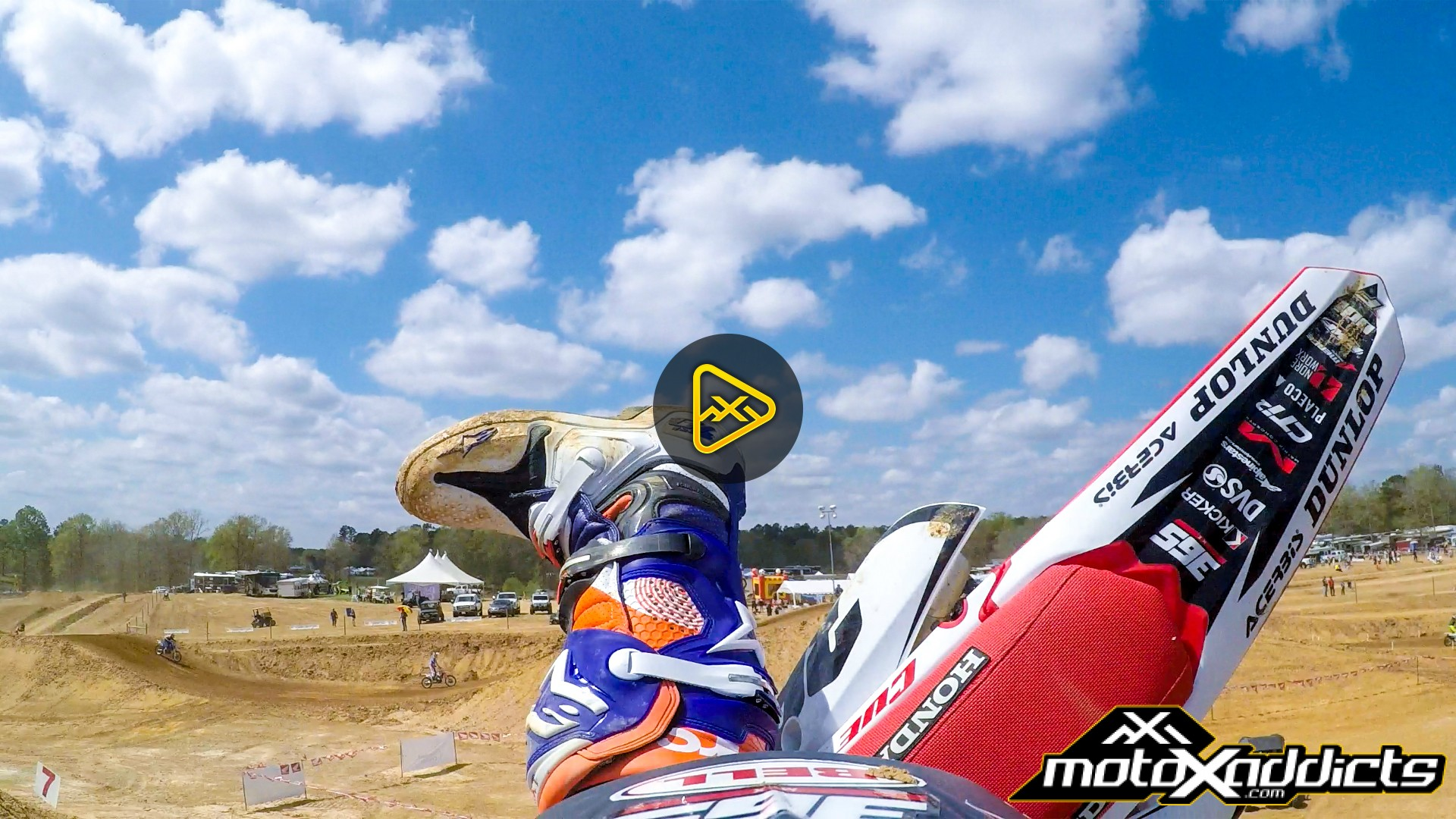 "Helmet Cam: Lap at Kevin Windham's ""FARM14"" with Brett Cue"