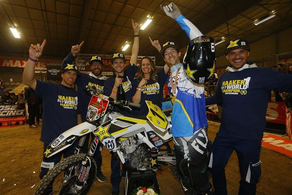 Colton Haaker Crowned 2017 SuperEnduro World Champion