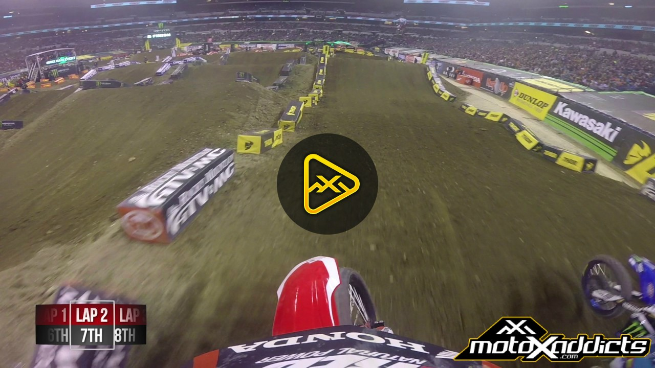 Helmet Cam: Cole Seely at 2017 Indianapolis SX