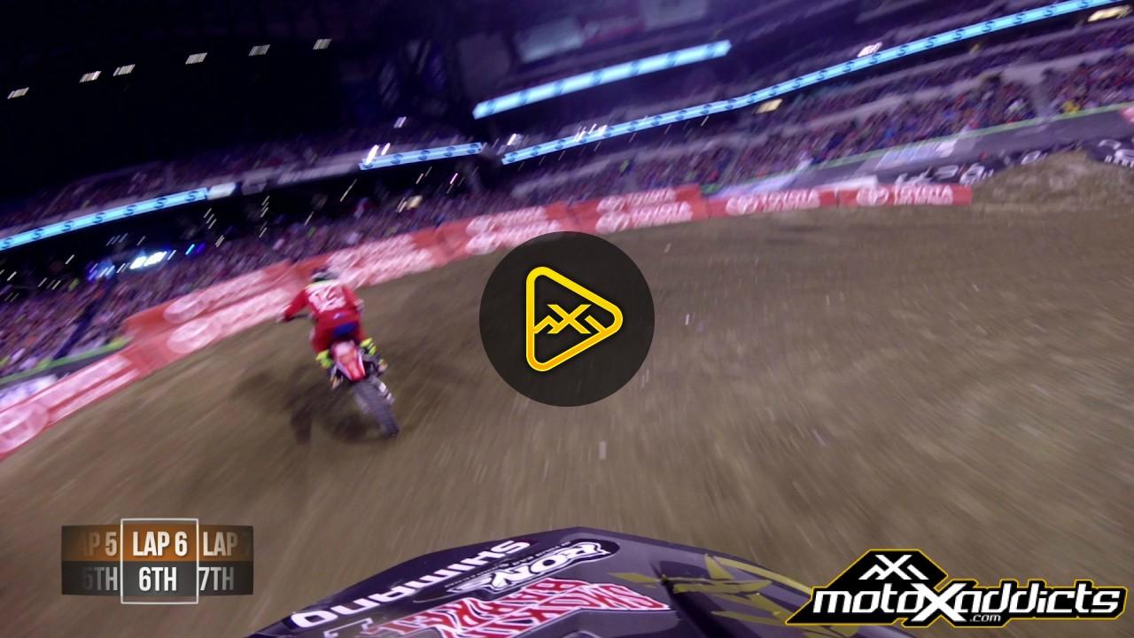 Helmet Cam: Davi Millsaps at 2017 Indianapolis SX
