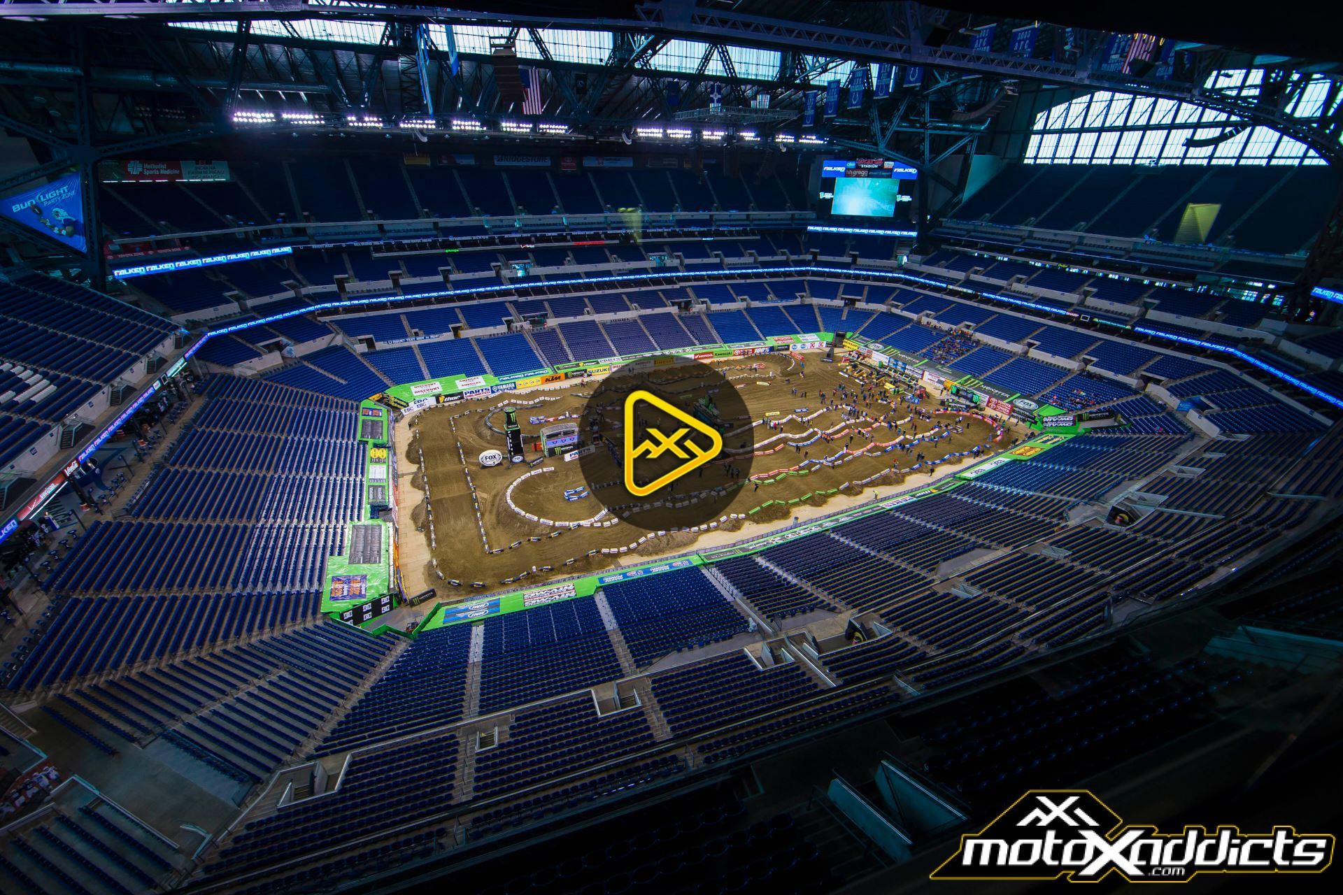Watch Qualifying Live from 2017 Indianapolis SX