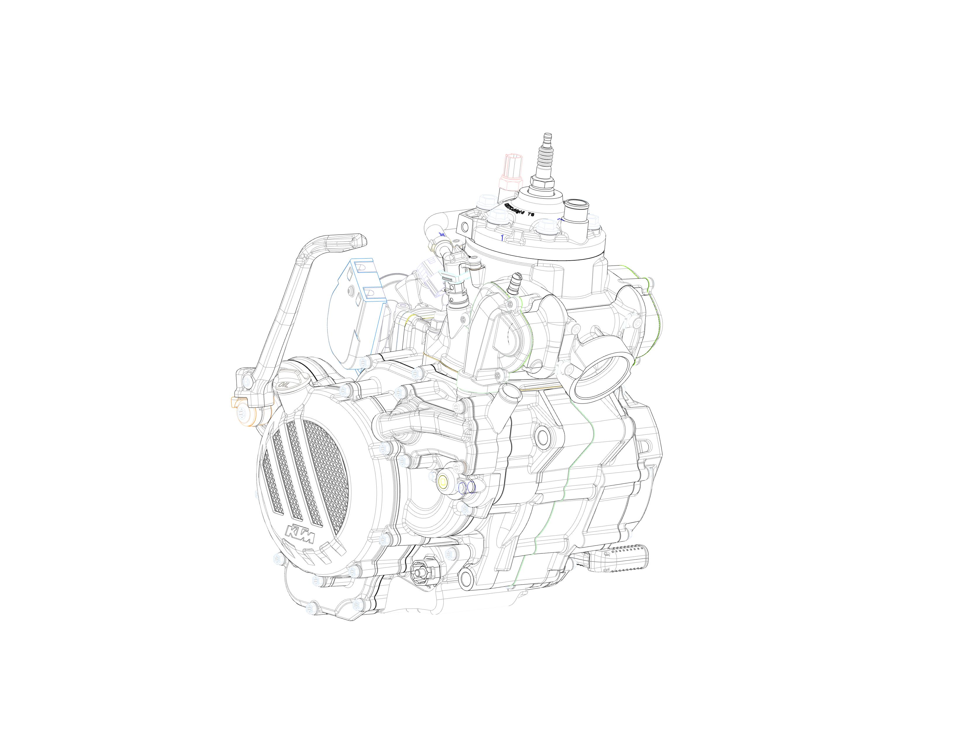 KTM GROUNDBREAKING 2-STROKE FUEL INJECTION MACHINES