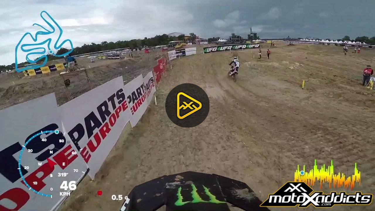 Helmet Cam Lap – 2017 MXGP of Indonesia