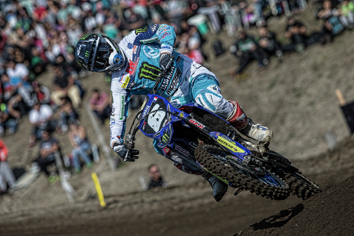 Paturel finished off the box, but he is still just six points out of the MX2 World Championship points lead.