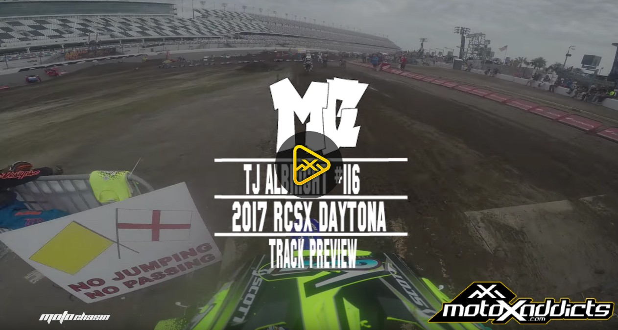 Helmet Cam: TJ Albright at 2017 RCSX Daytona