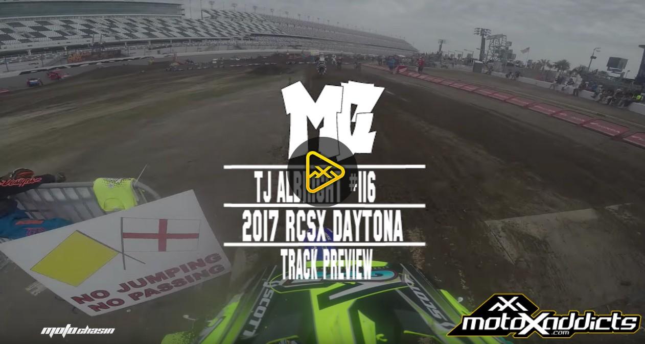 Helmet Cam: TJ Albright at 2017 RCSX Daytona