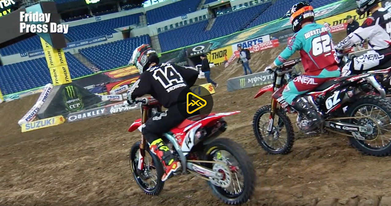 Cole Seely Interview – 2017 Indianapolis SX