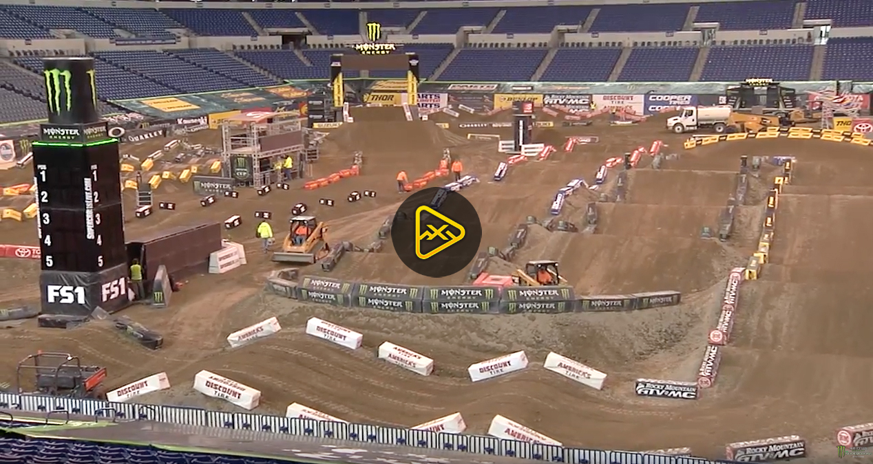 Official Track Feature – 2017 Indianapolis SX