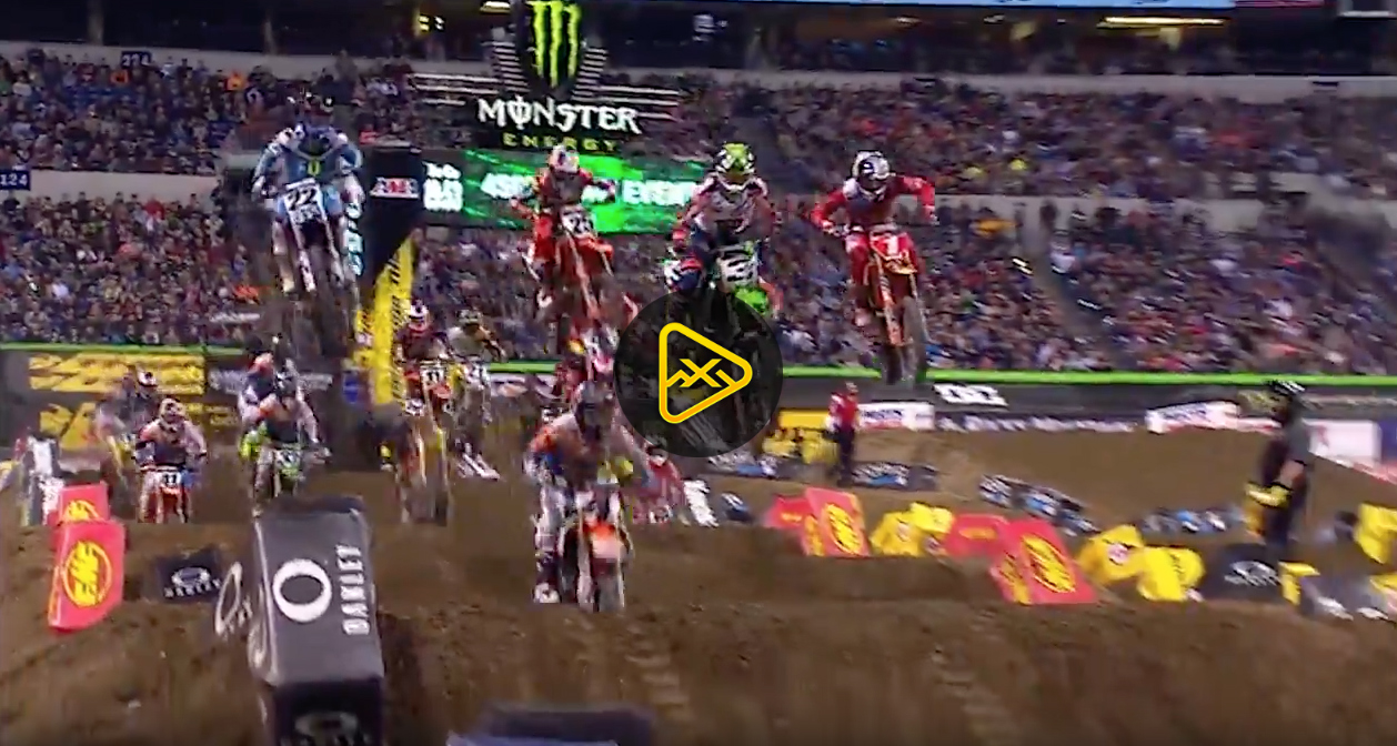 450SX Highlights – 2017 Indianapolis SX