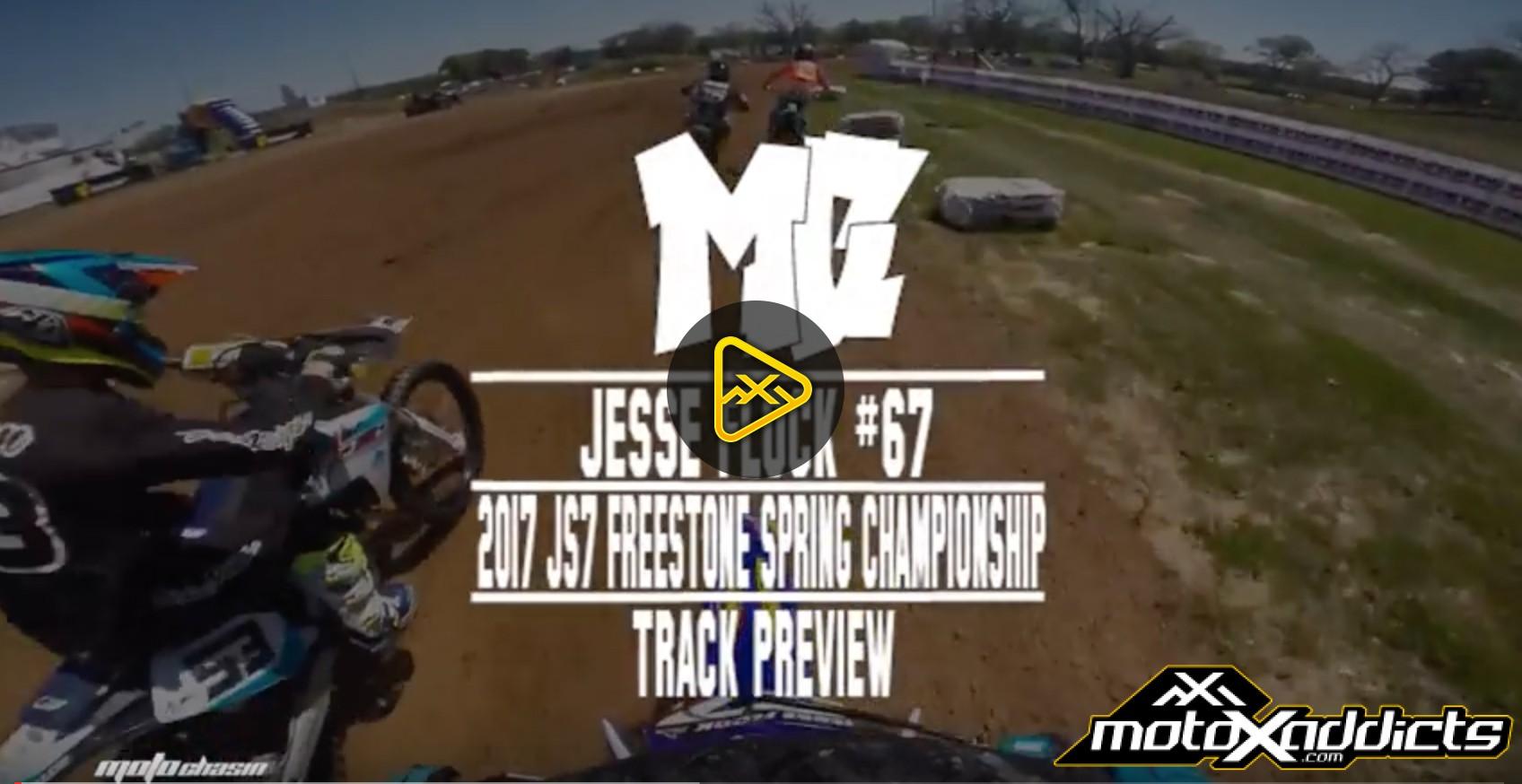 Helmet Cam: Jesse Flock 2017 JS7 Freestone Spring Championship