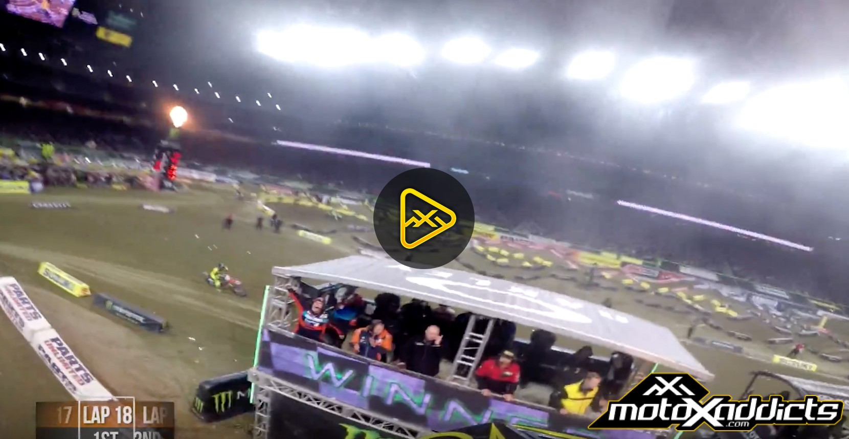 Helmet Cam: Jordon Smith's Win at 2017 Detroit SX