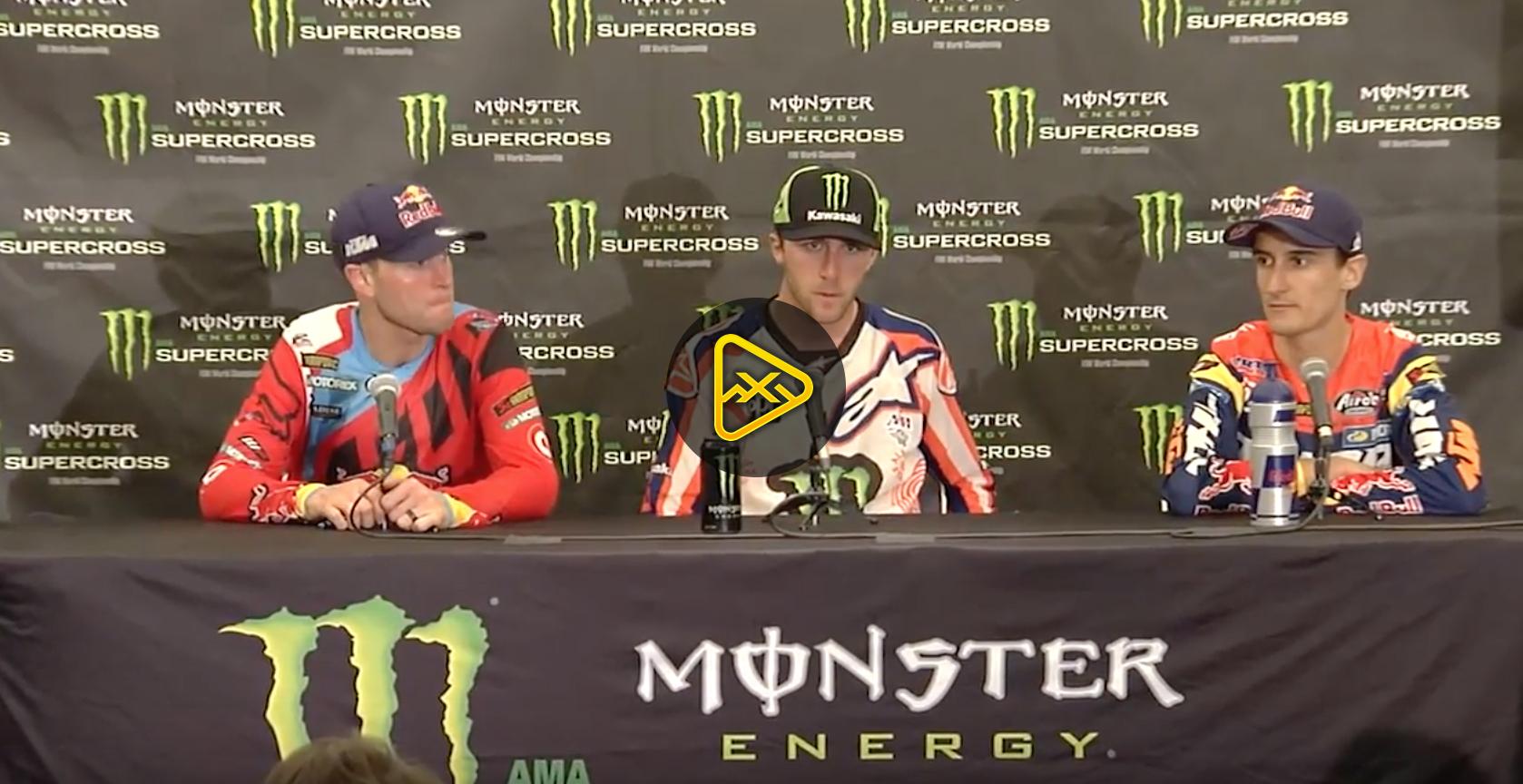450SX Press Conference – 2017 Indianapolis SX