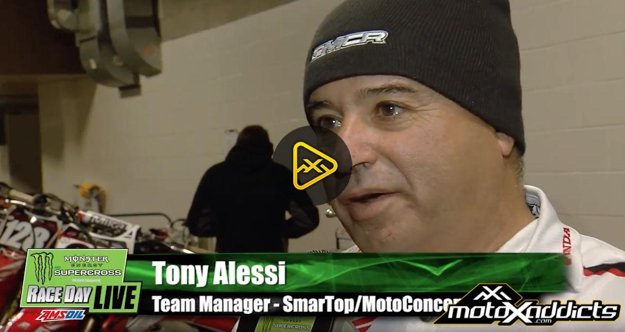 Tony Alessi Interview – 2017 Toronto SX