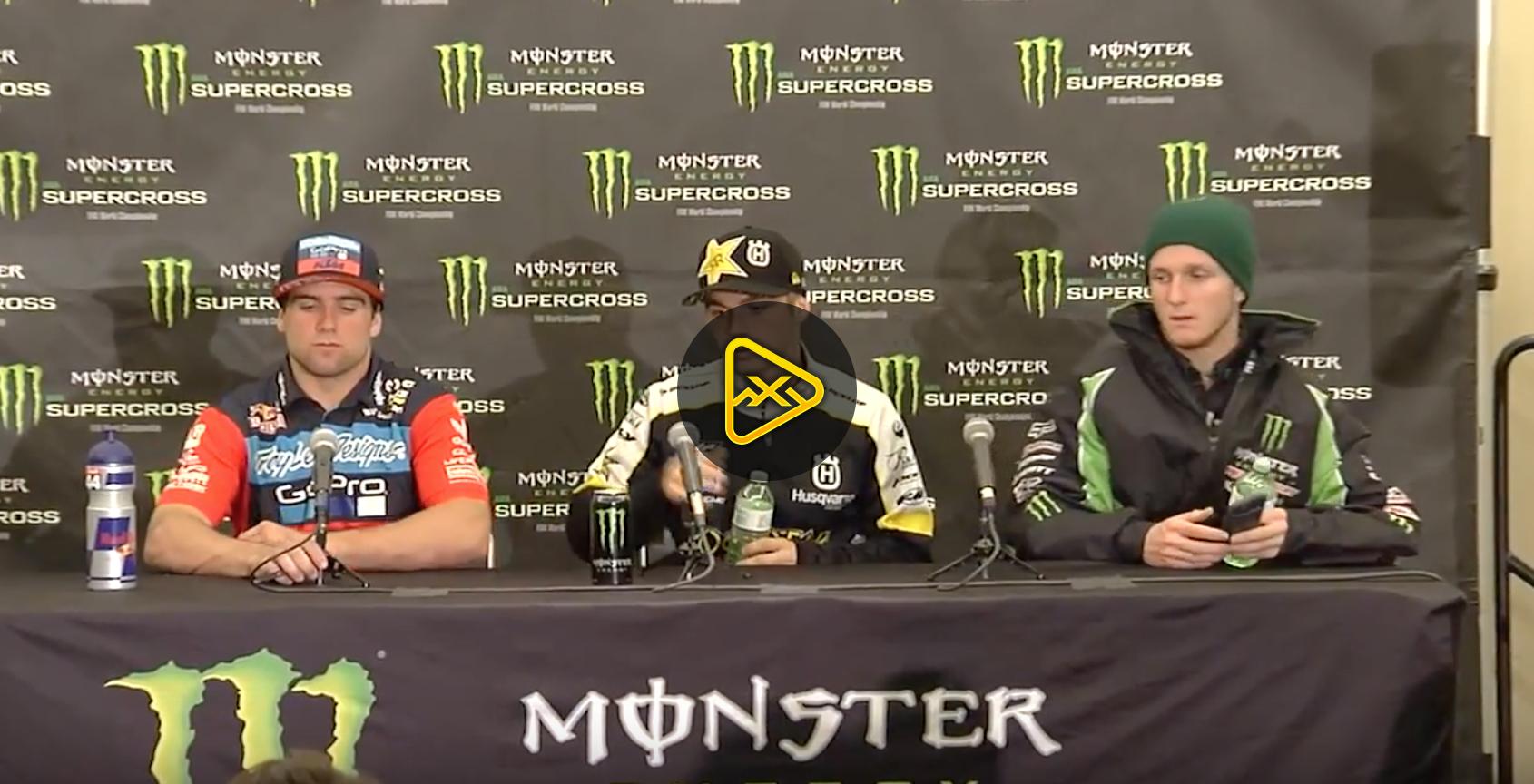250SX Press Conference – 2017 Indianapolis SX