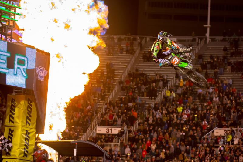Tomac Takes Red Plate, Hill Wins Title at Salt Lake City SX
