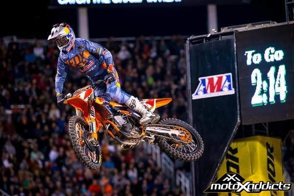 DUNGEY CONTINUES HIS CHAMPIONSHIP QUEST WITH 2ND PLACE AT SALT LAKE CITY SX