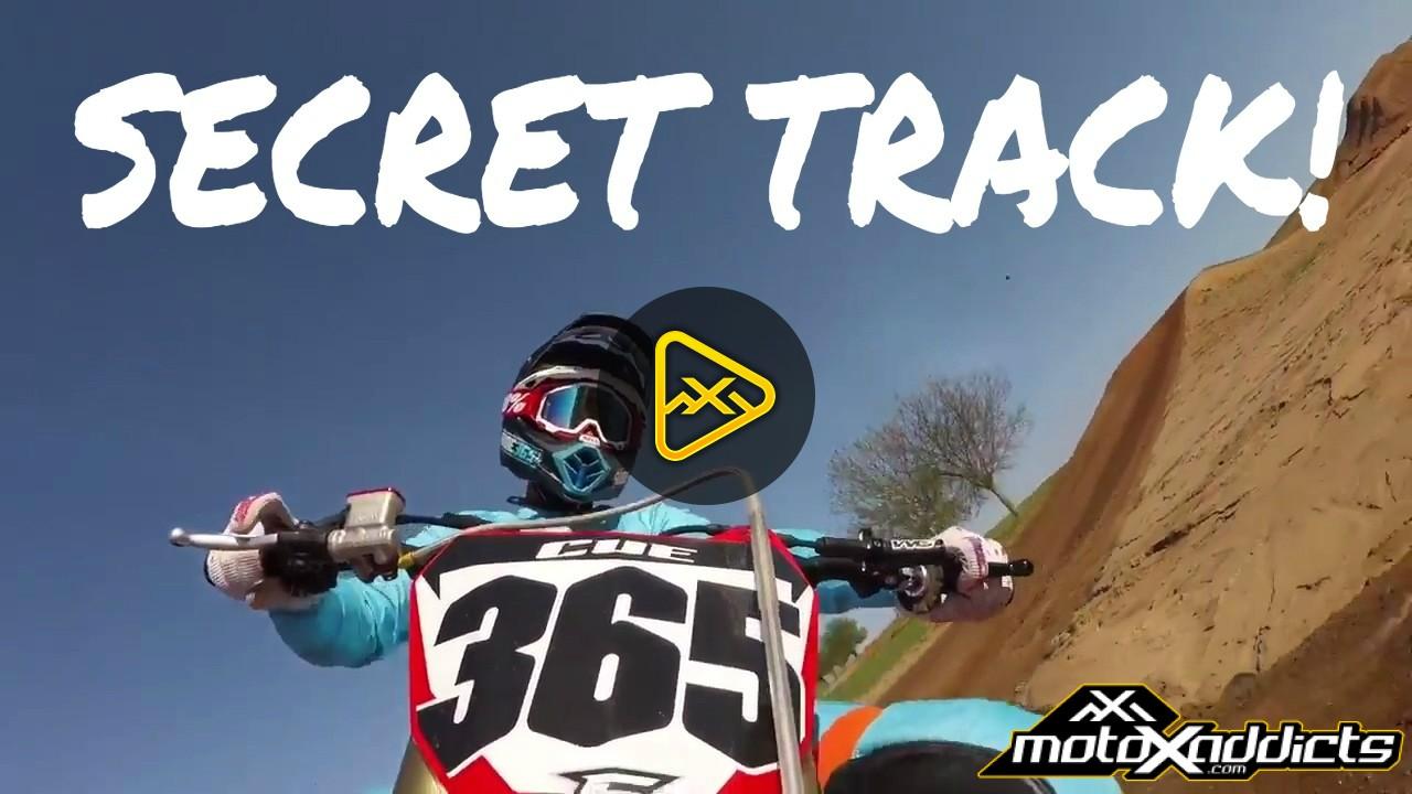 Helmet Cam: Brett Cue at a Hidden Gem MX
