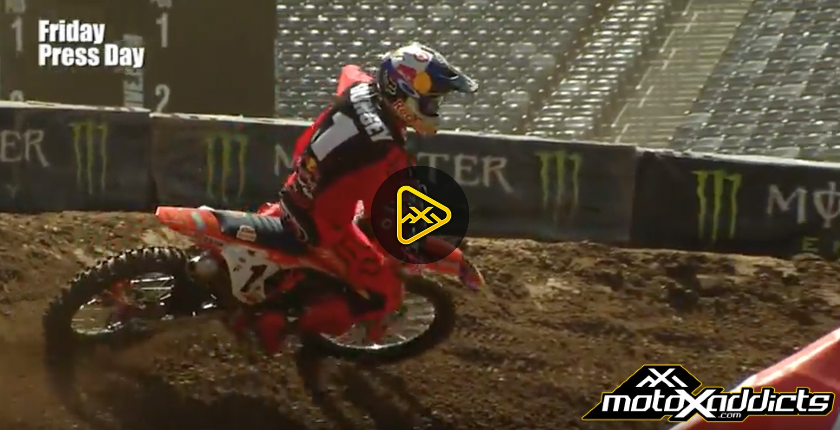 Ryan Dungey Interview – 2017 East Rutherford SX