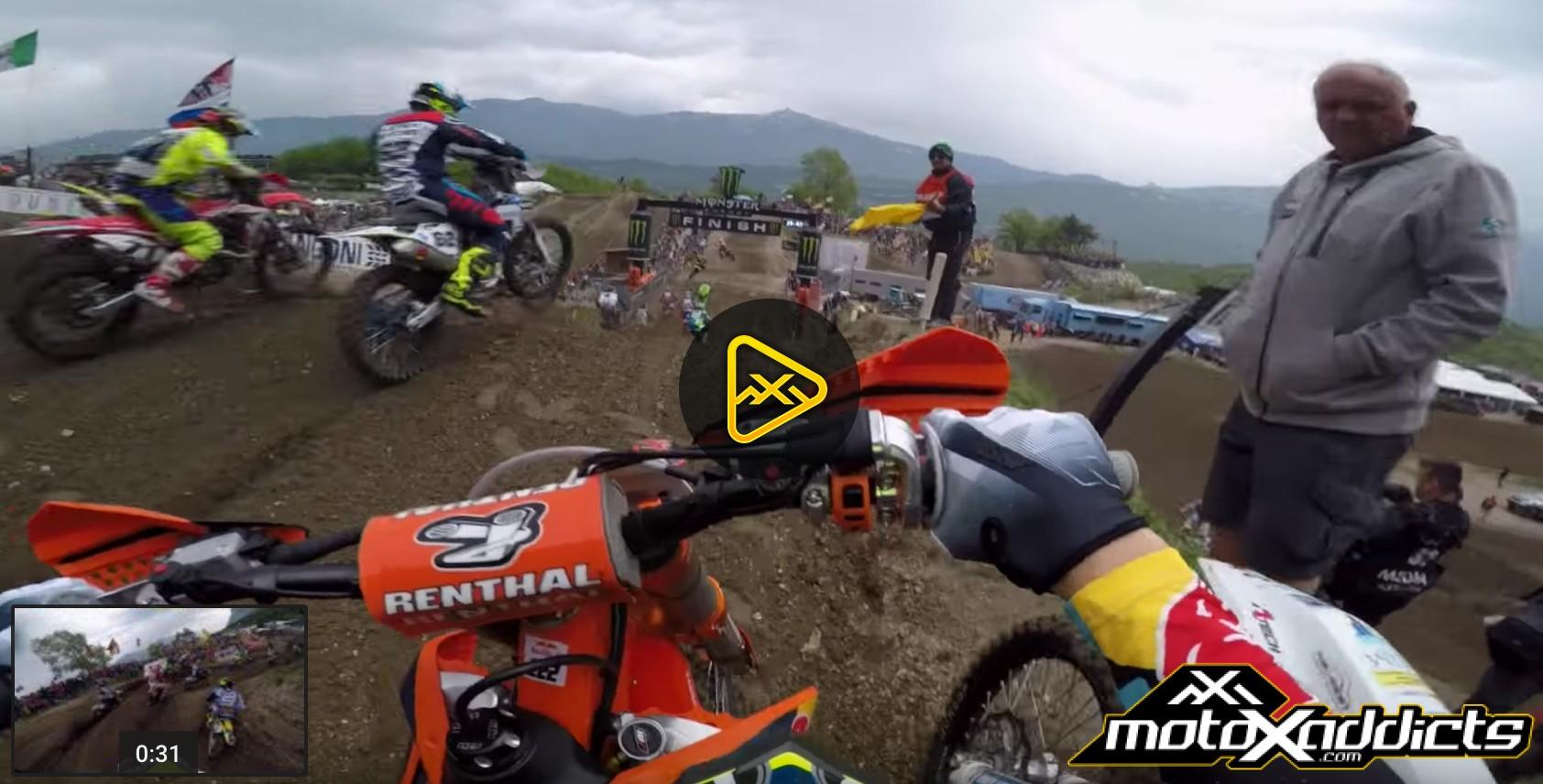 GoPro: Antonio Cairoli Charge from Back in Trentino