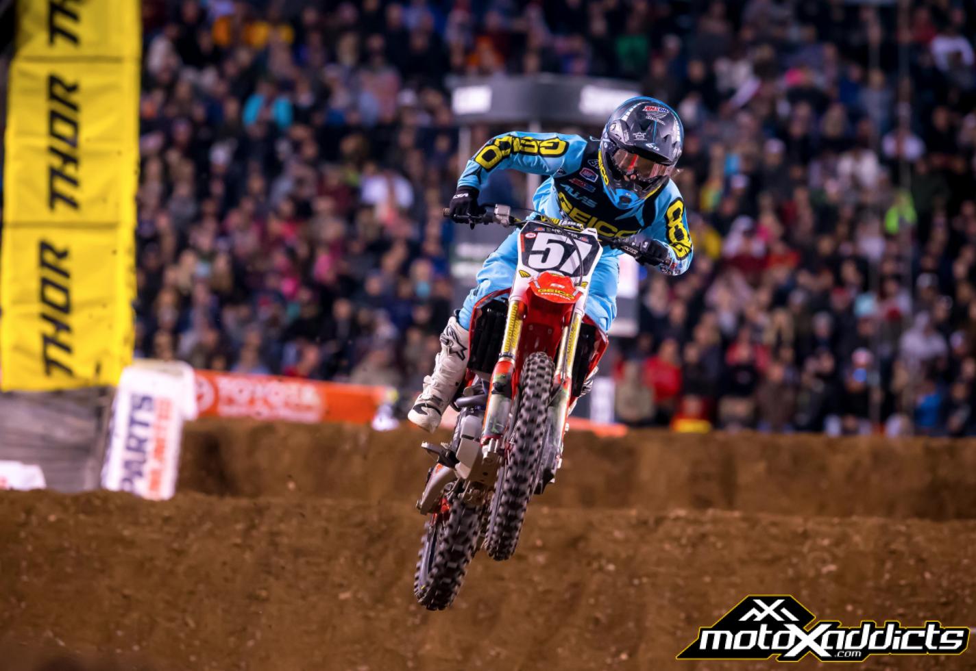 Jimmy Decotis Scores Top 5 at Salt Lake City SX