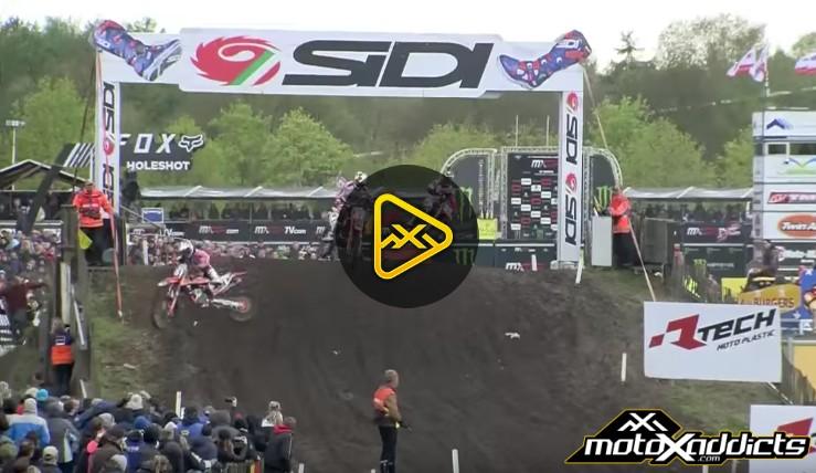 Jorge Prado Crash in Valkenswaard