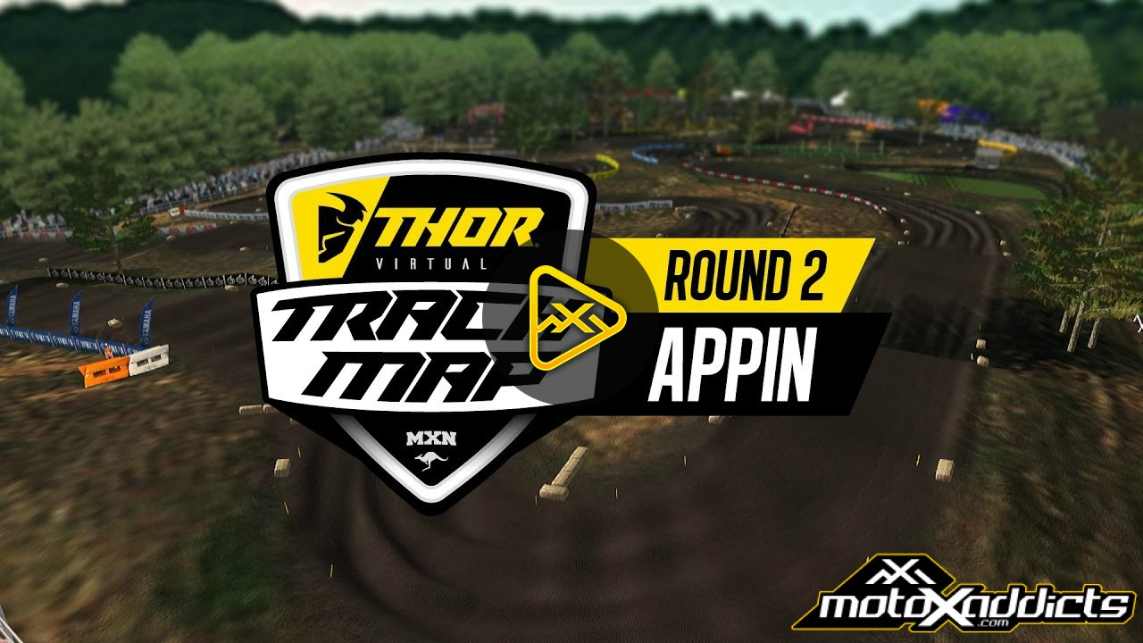 Round 2 Appin Australian MX Nationals – Track map