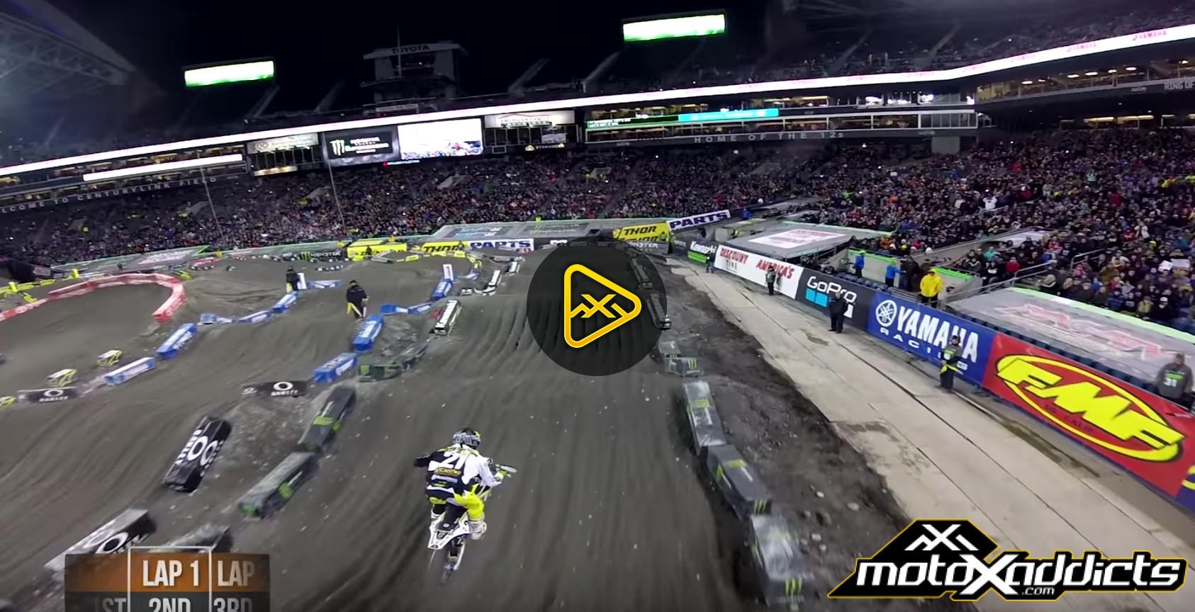Helmet Cam: Davi Millsaps' Main Event – 2017 Seattle SX