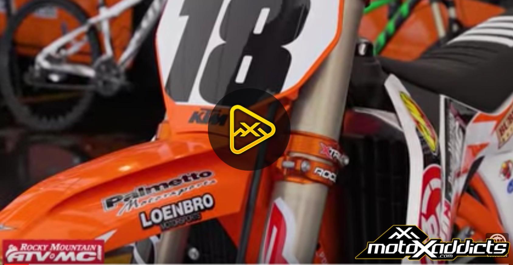 Davi Millsaps Bike Prep for SX w/ Mechanic Hugh Steadman