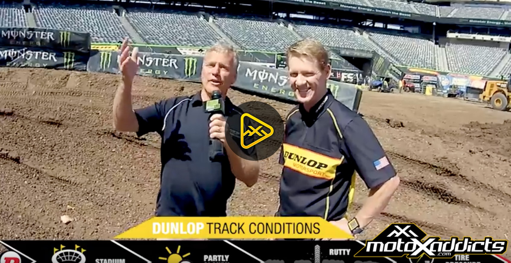 Track Condition Report – 2017 East Rutherford SX