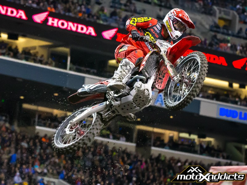 Jimmy Decotis 6th at 2017 Seattle SX