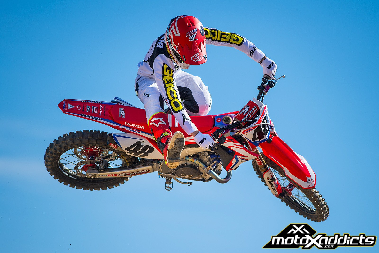 Christian Craig to Race HRC / Honda 450 at Salt Lake City SX