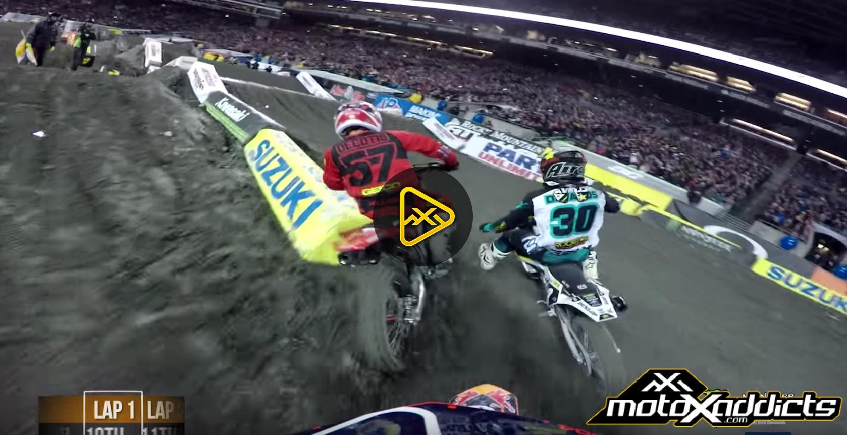 Helmet Cam: Shane McElrath's Main Event – 2017 Seattle SX