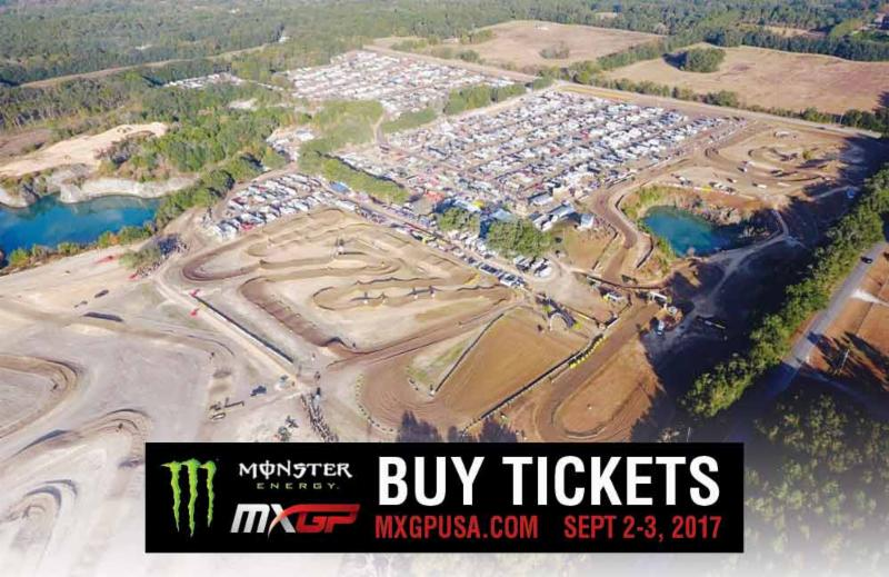 Tickets to the 2017 Monster Energy MXGP of USA On Sale Now