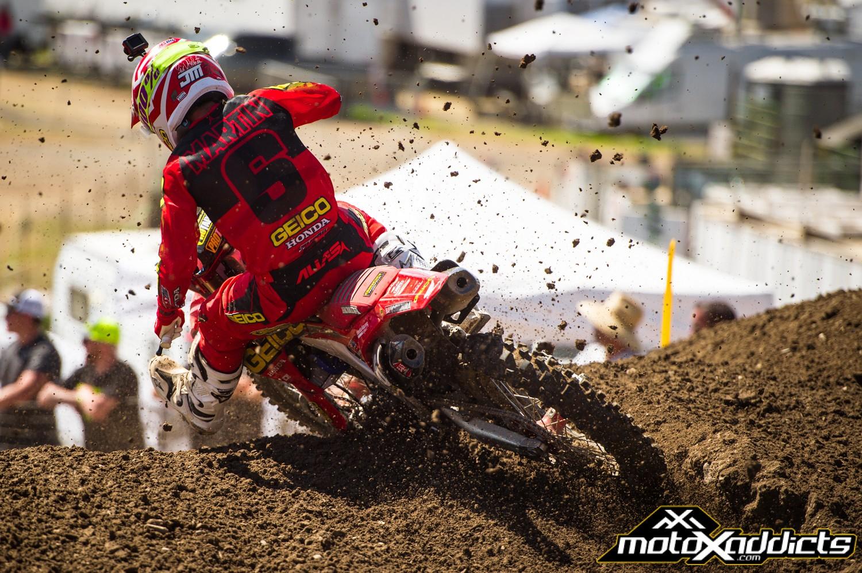 Rough Start to MX Season for GEICO Honda